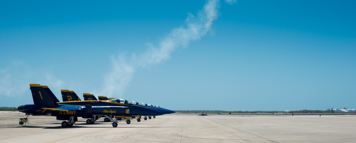 Blue Angels at the Key West Air Spectacular